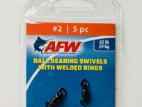 AFW ball bearing swivels with welded rings